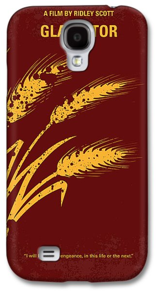 Fan Art Galaxy S4 Cases - No300 My GLADIATOR minimal movie poster Galaxy S4 Case by Chungkong Art