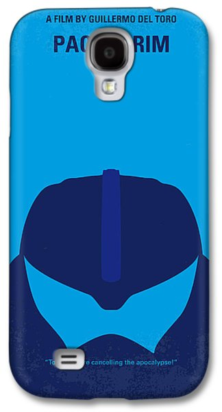 Fan Art Galaxy S4 Cases - No306 My Pacific Rim minimal movie poster Galaxy S4 Case by Chungkong Art