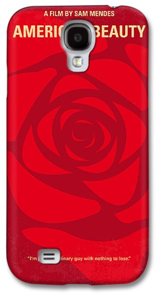 Fan Art Galaxy S4 Cases - No313 My American Beauty minimal movie poster Galaxy S4 Case by Chungkong Art