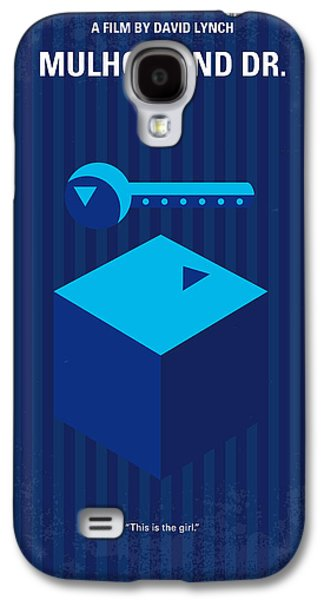 Drive Galaxy S4 Cases - No323 My MULHOLLAND DRIVE minimal movie poster Galaxy S4 Case by Chungkong Art