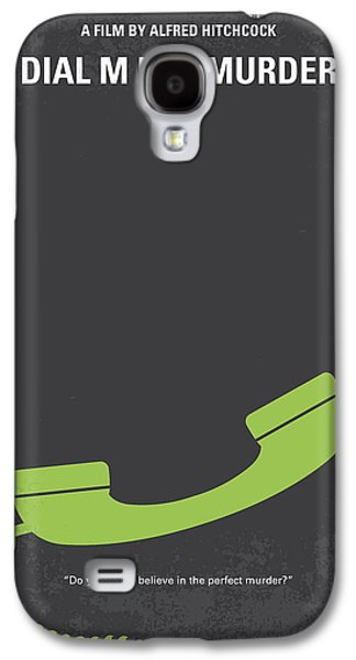 Tennis Galaxy S4 Cases - No328 My Dial M for Murder minimal movie poster Galaxy S4 Case by Chungkong Art