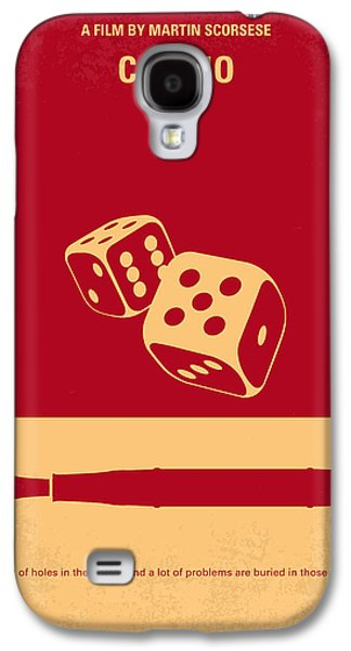 Las Vegas Galaxy S4 Cases - No348 My Casino minimal movie poster Galaxy S4 Case by Chungkong Art