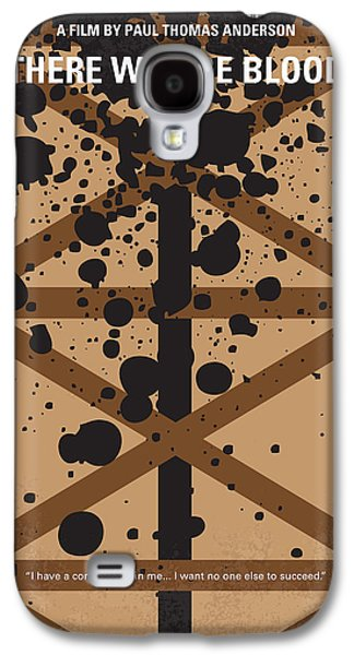 No358 My There Will Be Blood Minimal Movie Poster Galaxy S4 Case by Chungkong Art