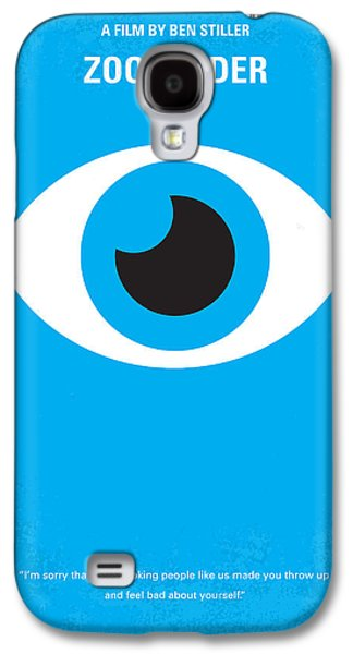 Graphic Design Galaxy S4 Cases - No359 My Zoolander minimal movie poster Galaxy S4 Case by Chungkong Art