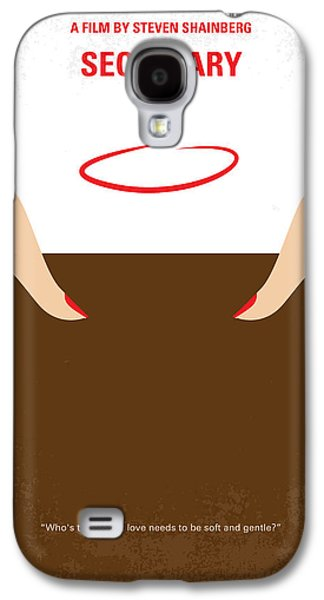 Slaves Galaxy S4 Cases - No367 My Secretary minimal movie poster Galaxy S4 Case by Chungkong Art