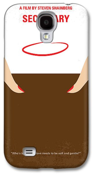 No371 My Secretary Minimal Movie Poster Galaxy S4 Case by Chungkong Art