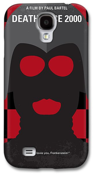 Death Galaxy S4 Cases - No371 My Death Race 2000 minimal movie poster Galaxy S4 Case by Chungkong Art