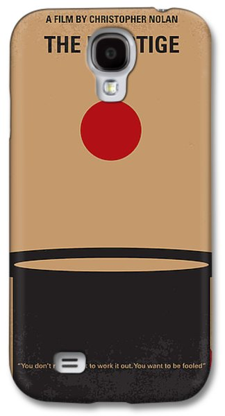 Bale Galaxy S4 Cases - No381 My The Prestige minimal movie poster Galaxy S4 Case by Chungkong Art