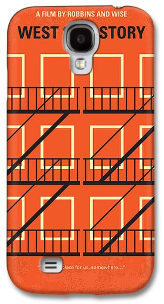New York Jets Galaxy S4 Cases - No384 My West Side Story minimal movie poster Galaxy S4 Case by Chungkong Art