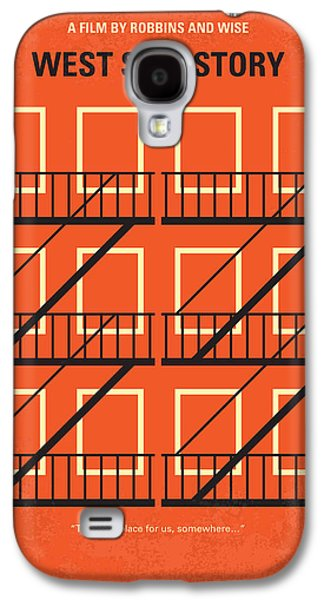 No387 My West Side Story Minimal Movie Poster Galaxy S4 Case by Chungkong Art