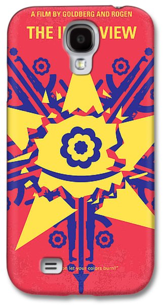 Kim Digital Art Galaxy S4 Cases - No400 My The Interview minimal movie poster Galaxy S4 Case by Chungkong Art