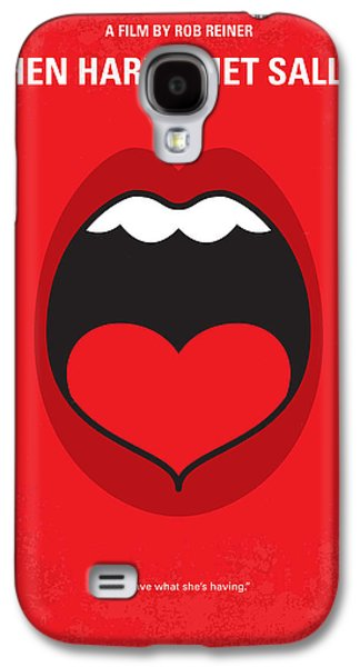 Sex Digital Galaxy S4 Cases - No405 My When Harry Met Sally minimal movie poster Galaxy S4 Case by Chungkong Art