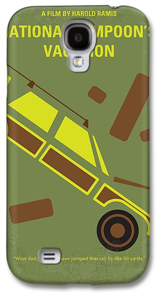 Vacation Digital Art Galaxy S4 Cases - No412 My National Lampoons Vacation minimal movie poster Galaxy S4 Case by Chungkong Art