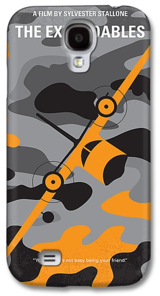 Stallone Digital Galaxy S4 Cases - No413 My The expendables minimal movie poster Galaxy S4 Case by Chungkong Art