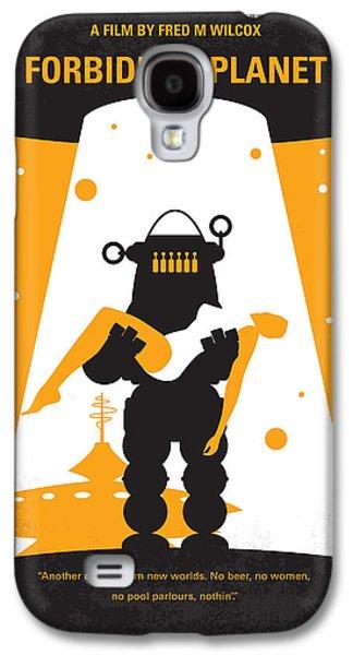 Survivor Art Galaxy S4 Cases - No418 My Forbidden Planet minimal movie poster Galaxy S4 Case by Chungkong Art
