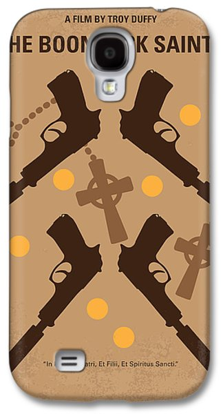 No419 My Boondock Saints Minimal Movie Poster Galaxy S4 Case by Chungkong Art