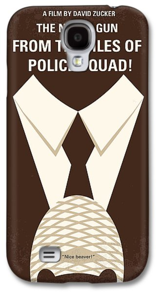 Police Galaxy S4 Cases - No423 My The Naked Gun minimal movie poster Galaxy S4 Case by Chungkong Art