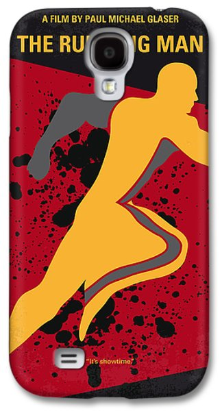 Running Digital Galaxy S4 Cases - No425 My Running man minimal movie poster Galaxy S4 Case by Chungkong Art