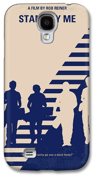 No429 My Stand By Me Minimal Movie Poster Galaxy S4 Case by Chungkong Art