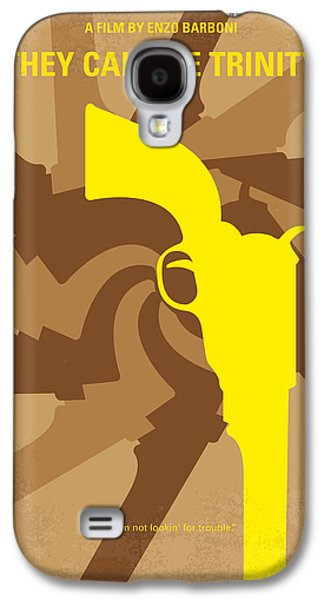 Western Digital Art Galaxy S4 Cases - No431 My They Call Me Trinity minimal movie poster Galaxy S4 Case by Chungkong Art
