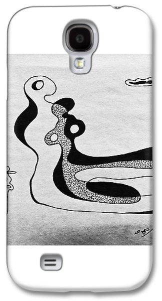 Abstracted Galaxy S4 Cases - No.56 Galaxy S4 Case by Fei A