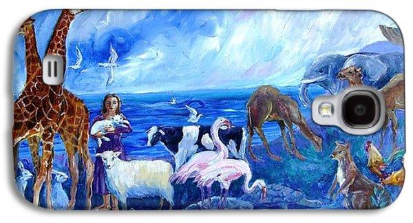 Noahs Ark - After The Flood  Galaxy S4 Case by Trudi Doyle