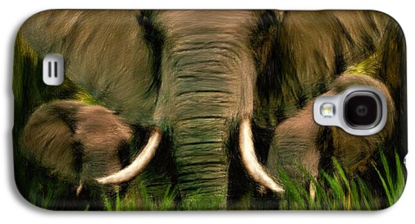 Tusk Galaxy S4 Cases - Noble Ones Galaxy S4 Case by Lourry Legarde