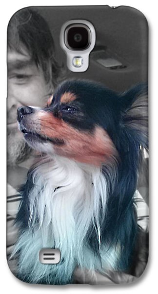 Puppies Galaxy S4 Cases - Noblesse Oblige Galaxy S4 Case by Del Gaizo