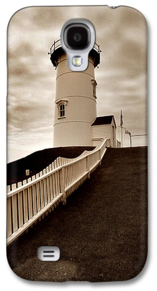 Cape Cod Galaxy S4 Cases - Nobska Lighthouse Galaxy S4 Case by Skip Willits