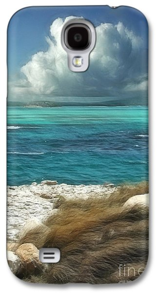 Vacation Digital Art Galaxy S4 Cases - Nonsuch Bay Antigua Galaxy S4 Case by John Edwards
