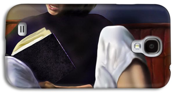 Blonde Galaxy S4 Cases - Norma Jeane Baker Galaxy S4 Case by Reggie Duffie