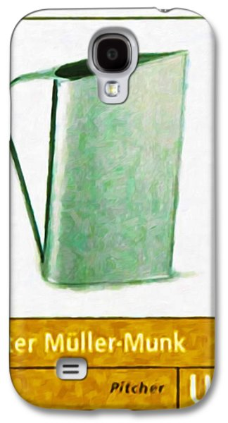Old Pitcher Paintings Galaxy S4 Cases - Normandie pitcher Galaxy S4 Case by Lanjee Chee
