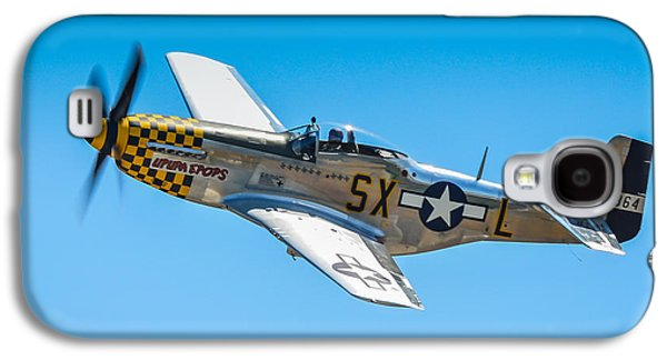 P51 Photographs Galaxy S4 Cases - North American P-51D Mustang  Galaxy S4 Case by Puget  Exposure