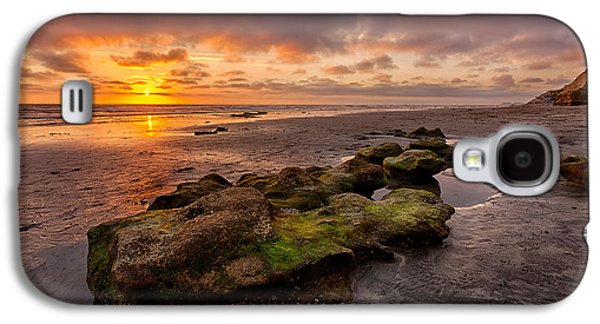 Beach Landscape Galaxy S4 Cases - North Beach Rock Galaxy S4 Case by Peter Tellone