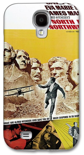 Films By Alfred Hitchcock Galaxy S4 Cases - North by Northwest - 1959 Galaxy S4 Case by Nomad Art And  Design