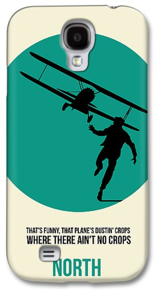 Films By Alfred Hitchcock Galaxy S4 Cases - North by Northwest Poster 1 Galaxy S4 Case by Naxart Studio