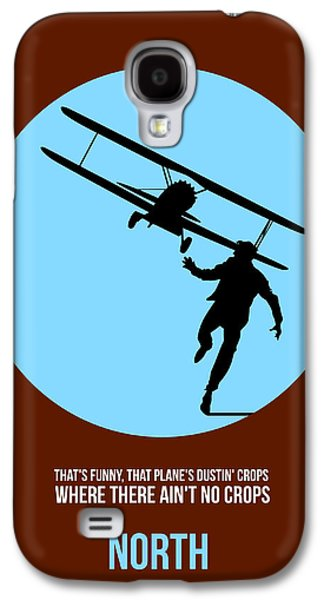 Films By Alfred Hitchcock Galaxy S4 Cases - North by Northwest Poster 2 Galaxy S4 Case by Naxart Studio