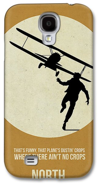 Films By Alfred Hitchcock Galaxy S4 Cases - North by Northwest Poster Galaxy S4 Case by Naxart Studio