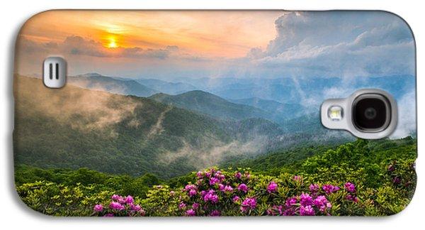 North Carolina Blue Ridge Parkway Spring Appalachian Mountains Nc Galaxy S4 Case by Dave Allen