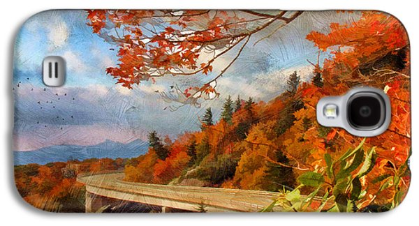 Scenic Drive Galaxy S4 Cases - North Carolina  Galaxy S4 Case by Darren Fisher