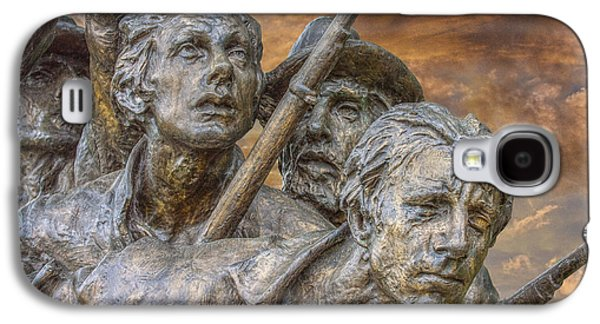 Statue Of Confederate Soldier Galaxy S4 Cases - North Carolina Memorial at Gettysburg Galaxy S4 Case by Randy Steele