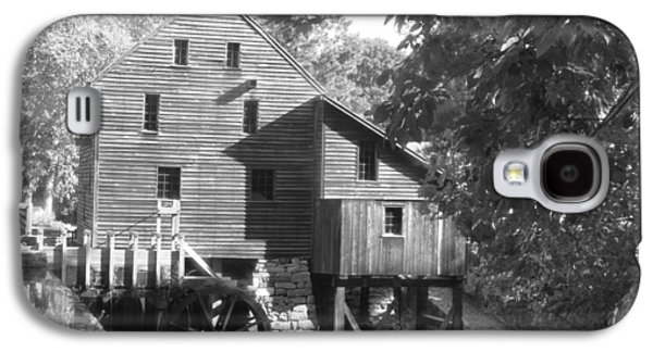 Old Feed Mills Galaxy S4 Cases - North Carolina watermill Galaxy S4 Case by Dwight Cook