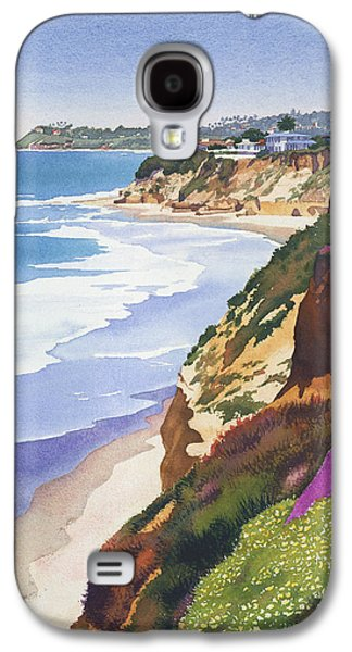Diego Galaxy S4 Cases - North County Coastline Galaxy S4 Case by Mary Helmreich