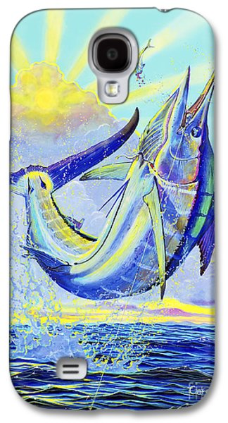 Marlin Galaxy S4 Cases - North Drop Off00132 Galaxy S4 Case by Carey Chen