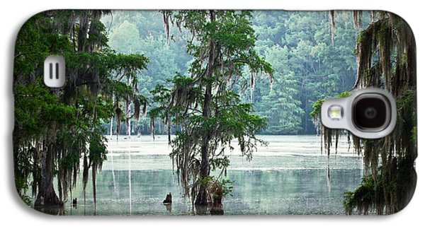 Cypress Swamp Galaxy S4 Cases - North Florida Cypress Swamp Galaxy S4 Case by Rich Leighton