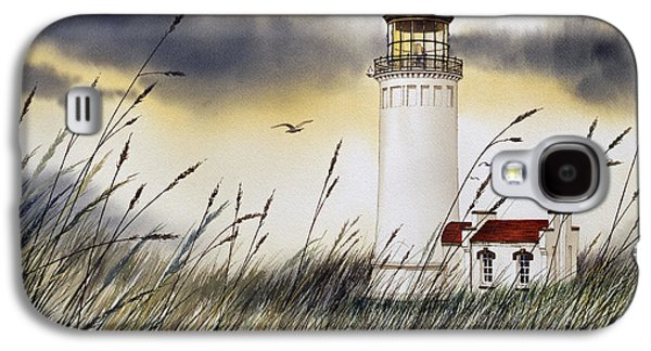 Landscape Greeting Cards Galaxy S4 Cases - North Head Lighthouse Galaxy S4 Case by James Williamson