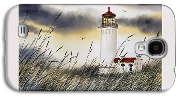 Landscape Framed Prints Galaxy S4 Cases - North Head Lighthouse Galaxy S4 Case by James Williamson