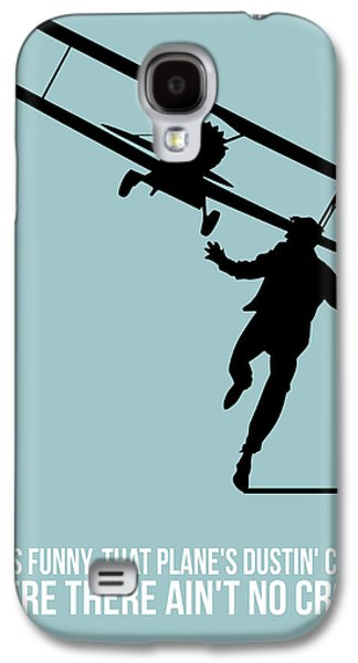 Films By Alfred Hitchcock Galaxy S4 Cases - North Poster 3 Galaxy S4 Case by Naxart Studio