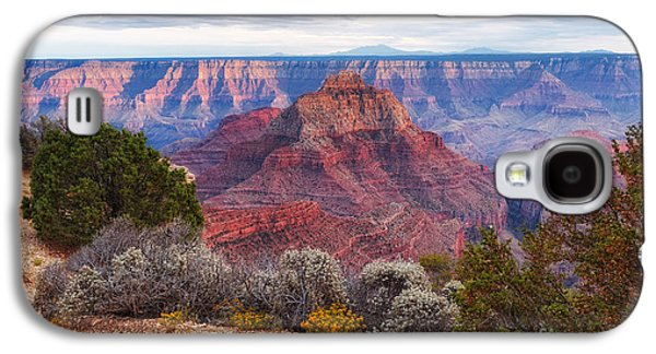 Hopi Galaxy S4 Cases - North Rim Grand Canyon Arizona Desert Southwest Solitude at Cape Royal Galaxy S4 Case by Silvio Ligutti