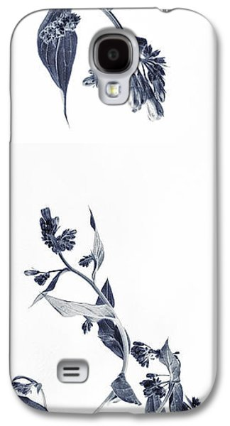 Botanical Galaxy S4 Cases - Northern Bluebells Galaxy S4 Case by Priska Wettstein